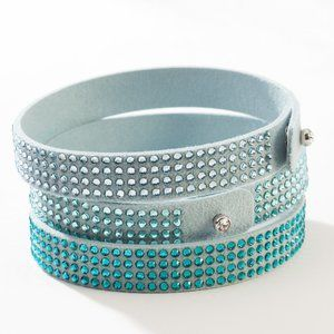 Tri-Warp Bracelet - Aqua